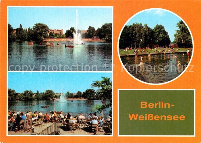 AK / Ansichtskarte Berlin Weissensee Teilansichten Kat. Berlin