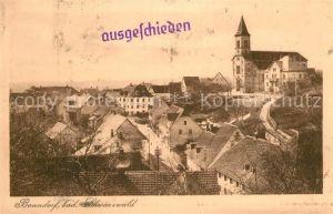 AK / Ansichtskarte Bonndorf Schwarzwald Gesamtansicht  Kat. Bonndorf
