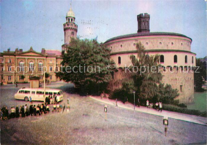 AK / Ansichtskarte Goerlitz Sachsen Kaisertrutz Reichenbacher Turm und Humboldthaus Kat. Goerlitz