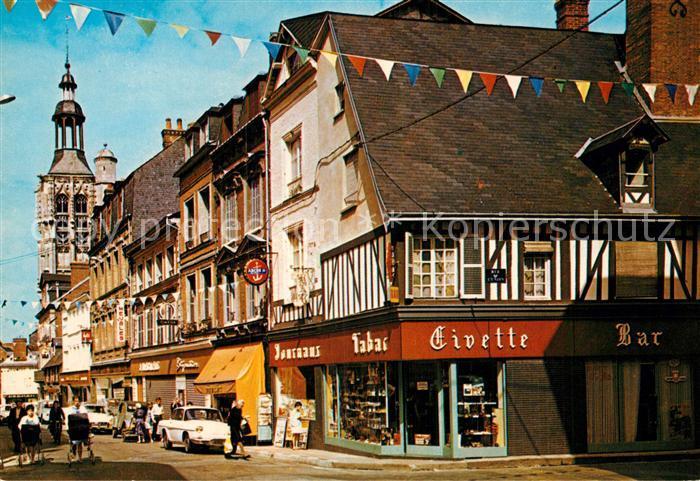 AK / Ansichtskarte Bernay La rue Thiers Kat. Bernay