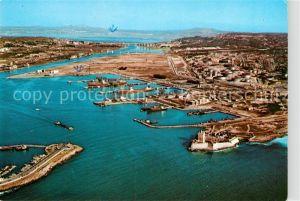 AK / Ansichtskarte Port de Bouc Vue aerienne du port petrolier Kat. Port de Bouc