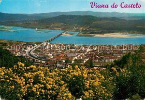 AK / Ansichtskarte Viana do Castelo Fliegeraufnahme Kat. Viana do Castelo