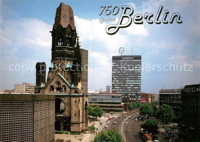 AK / Ansichtskarte Berlin Kaiser Wilhelm Gedaechtniskirche Europa Center Kat. Berlin