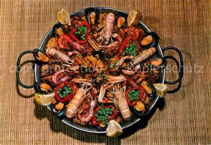 AK / Ansichtskarte Lebensmittel Paella Mallorca  Kat. Lebensmittel