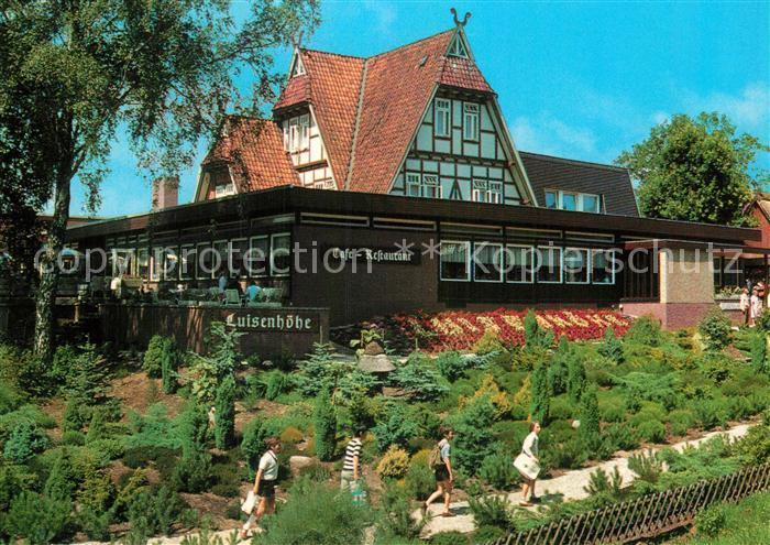 Ak Ansichtskarte Walsrode Lueneburger Heide Restaurant Luisenhhe