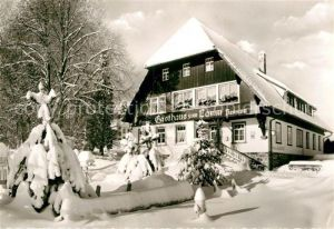 AK / Ansichtskarte Guendelwangen Gasthaus zum Lamm Kat. Bonndorf