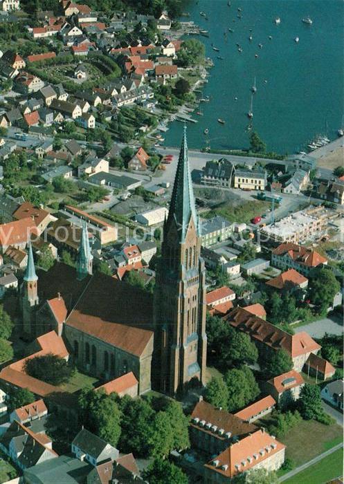 AK / Ansichtskarte Schleswig Holstein St. Petri Dom Fliegeraufnahme Kat. Schleswig