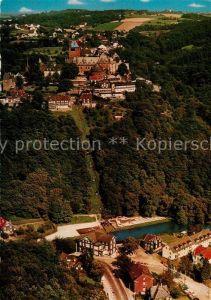 AK / Ansichtskarte Burg Wupper Fliegeraufnahme Schloss Burg Seilbahn Unterburg  Kat. Solingen
