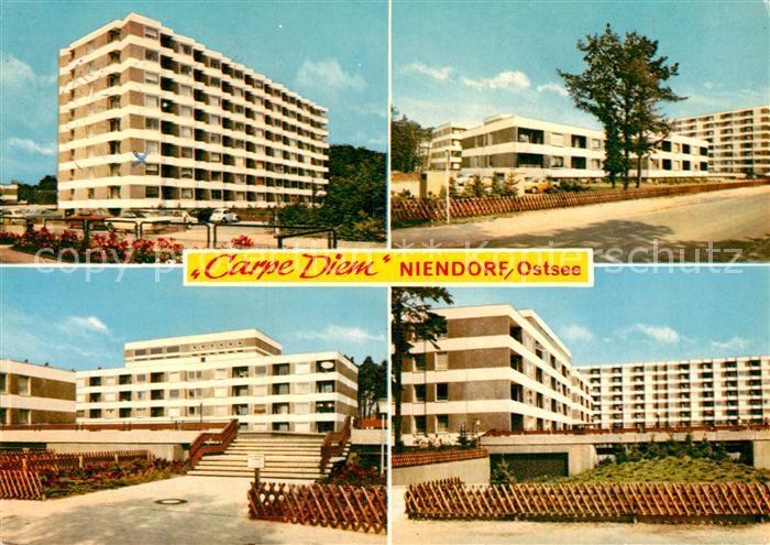 AK / Ansichtskarte Niendorf Ostseebad Ostsee Appartements Carpe Diem  Kat. Timmendorfer Strand