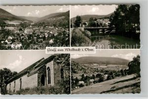 AK / Ansichtskarte Weilbach Unterfranken Panoramen Kat. Weilbach