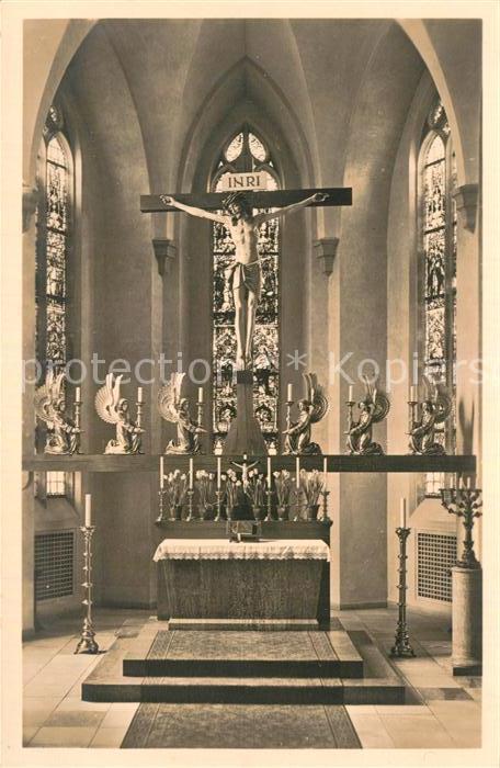 AK / Ansichtskarte Neuendettelsau Altar der Anstaltskirche Kat. Neuendettelsau