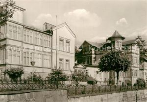 AK / Ansichtskarte Friedrichroda Sanatorium Tannenhof Kat. Friedrichroda