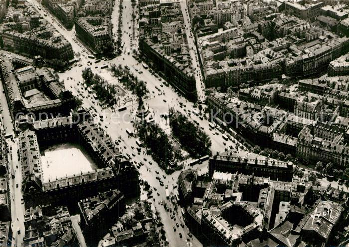 AK / Ansichtskarte Paris Place de la Republique vue aerienne Kat. Paris