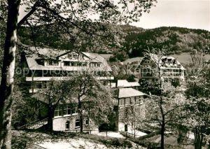 AK / Ansichtskarte Unterglottertal Sanatorium Glotterbad im Schwarzwald Kat. Glottertal