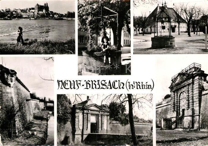 AK / Ansichtskarte Neuf Brisach Forteresse construite par Vauban Kat. Neuf Brisach