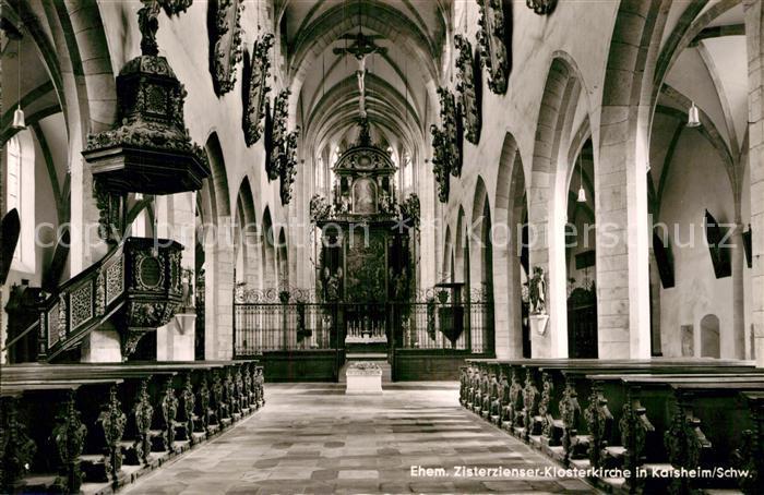 AK / Ansichtskarte Kaisheim Ehemalige Zisterzienser Klosterkirche Kat. Kaisheim