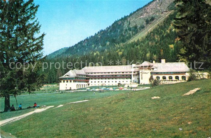 AK / Ansichtskarte Poiana Brasov Siebenbuergen Hotel Sport Kat. Brasov