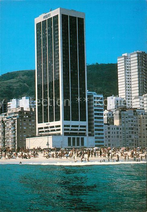 AK / Ansichtskarte Rio de Janeiro Hotel Meridien Copacabana Kat. Rio de Janeiro