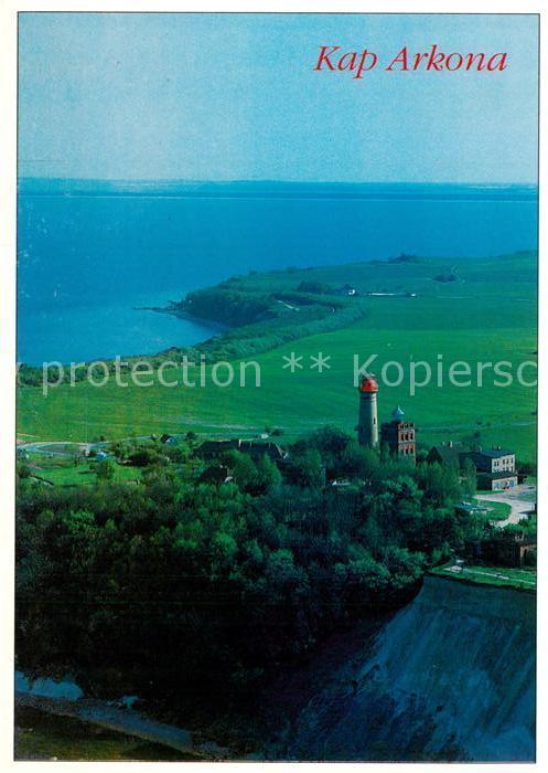 AK / Ansichtskarte Kap Arkona Steilkueste Steilkueste Fliegeraufnahme