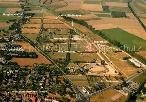 AK / Ansichtskarte Xanten Archaeologischer Park Xanten Fliegeraufnahme Kat. Xanten