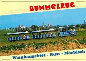 AK / Ansichtskarte Moerbisch See Dreschers Bummelzug Weinbaugebiet / Moerbisch am See /Nordburgenland