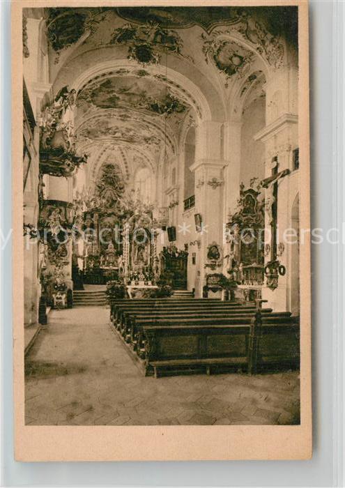 AK / Ansichtskarte Wemding Inneres der Wallfahrtskirche  Kat. Wemding