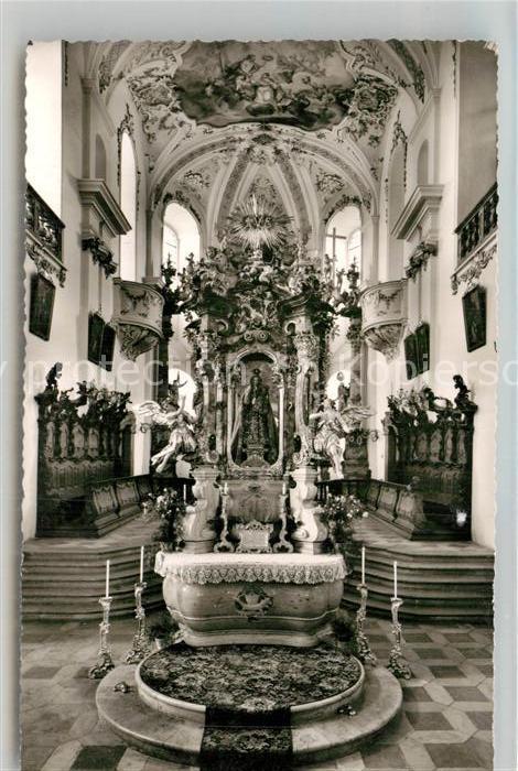 AK / Ansichtskarte Wemding Wallfahrtskirche Maria Bruennlein Kat. Wemding