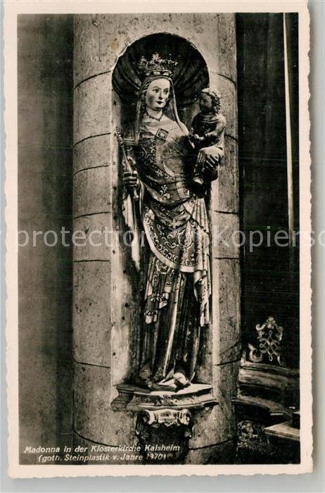 AK / Ansichtskarte Kaisheim Madonna in der Klosterkirche Kat. Kaisheim