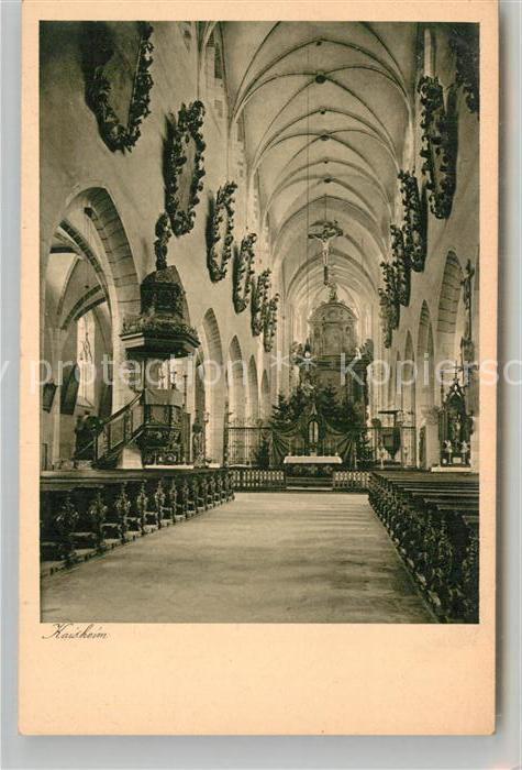 AK / Ansichtskarte Kaisheim Inneres der Klosterkirche Kat. Kaisheim