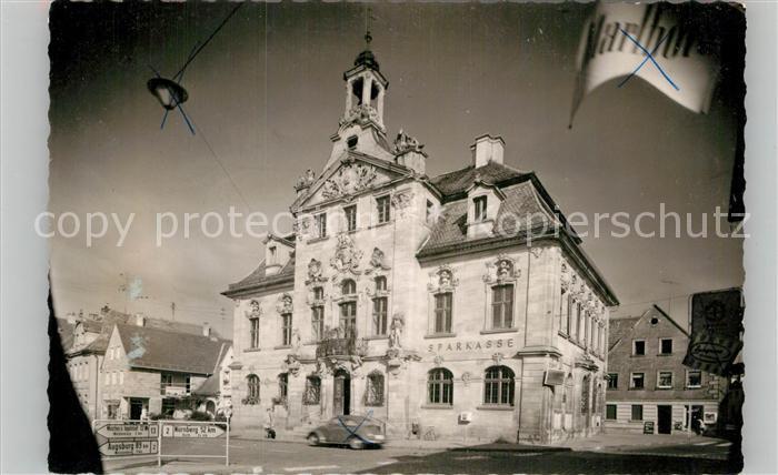 AK / Ansichtskarte Ellingen Bayern Rathaus Kat. Ellingen