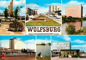 AK / Ansichtskarte Wolfsburg Volkswagenstadt Industrie VW Werk Kat. Wolfsburg