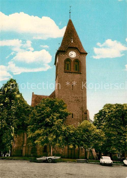 AK / Ansichtskarte Dahlenburg Kirche Kat. Dahlenburg