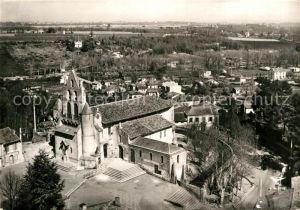 AK / Ansichtskarte Pibrac Eglise Sainte Germaine vue aerienne Kat. Pibrac
