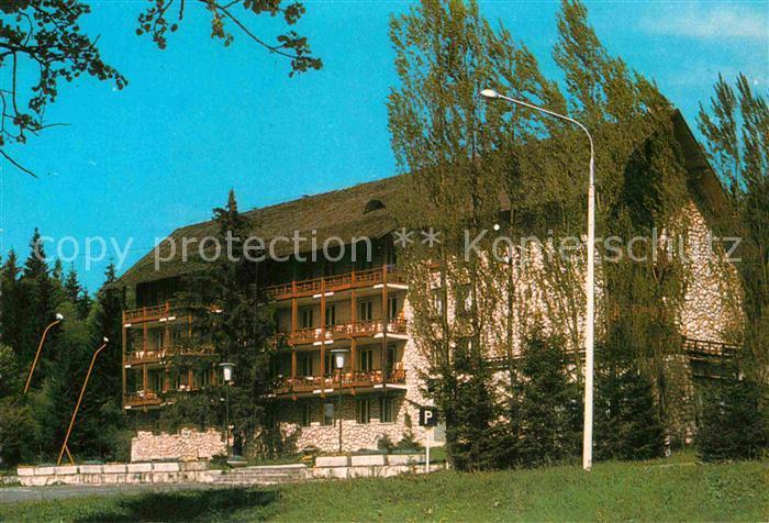 AK / Ansichtskarte Poiana Brasov Siebenbuergen Hotel Poiana / Brasov /Brasov