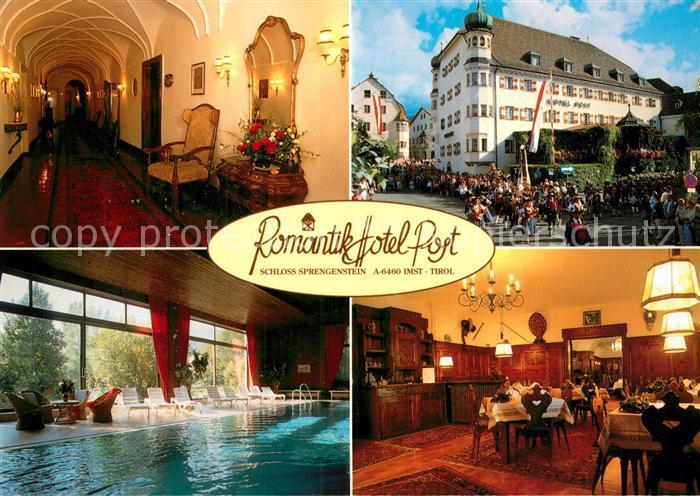 AK / Ansichtskarte Imst Tirol Hotel Post Schloss Sprengenstein Kat. Imst