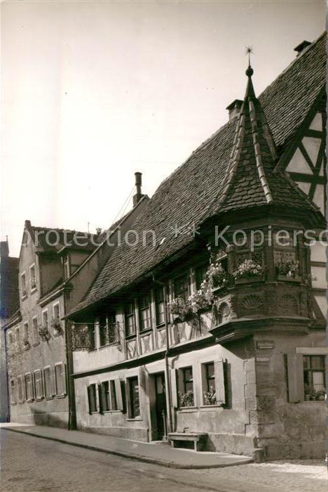 AK / Ansichtskarte Rothenburg Tauber Stadtansicht Kat. Rothenburg ob der Tauber