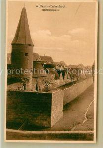 AK / Ansichtskarte Wolframs Eschenbach Stadtmauer Kat. Wolframs Eschenbach