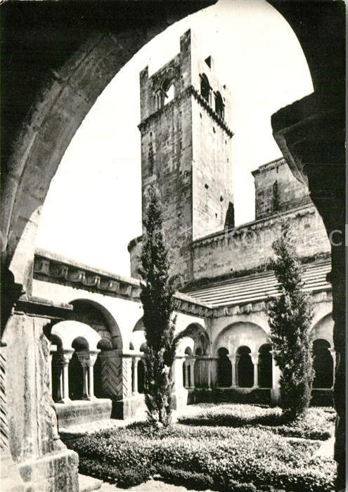 AK / Ansichtskarte Vaison la Romaine Vaucluse Le Cloitre et le Clocher de la Cathedrale Kat. Vaison la Romaine