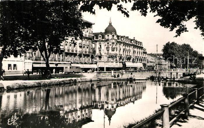 AK / Ansichtskarte Toulouse Haute Garonne Les Bords du Canal devant la Gare Matabiau Kat. Toulouse