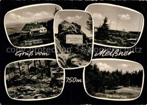 AK / Ansichtskarte Hessisch Lichtenau Berggasthaus Hoher Meissner Sender Sender Frau Holle Teich  Kat. Hessisch Lichtenau