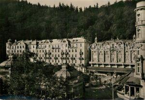 AK / Ansichtskarte Karlovy Vary Park Hotel Moskva Cedok  Kat. Karlovy Vary Karlsbad