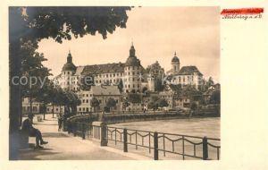AK / Ansichtskarte Neuburg Donau Partie an der Donau Kat. Neuburg a.d.Donau