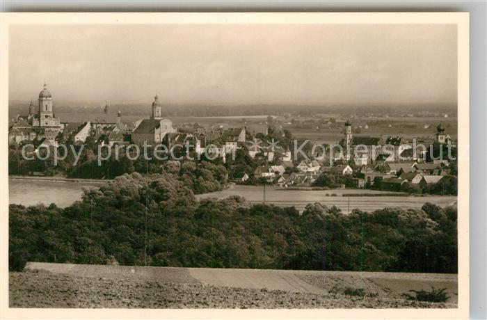 AK / Ansichtskarte Neuburg Donau Panorama  Kat. Neuburg a.d.Donau