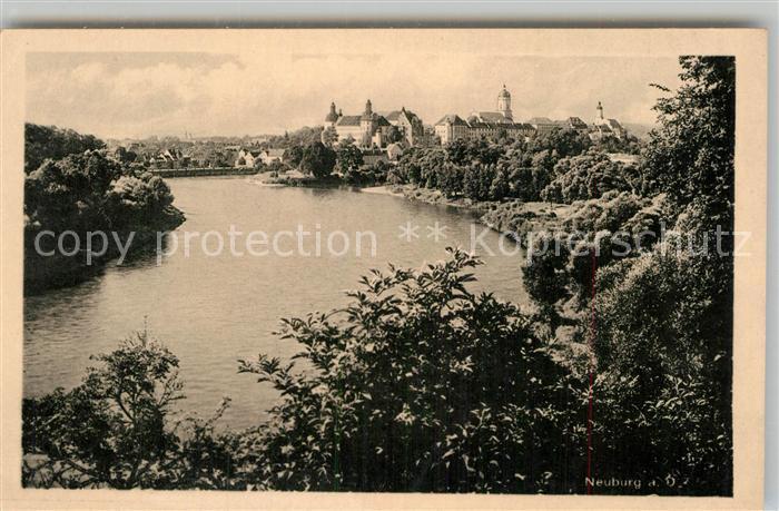 AK / Ansichtskarte Neuburg Donau Teilansicht  Kat. Neuburg a.d.Donau
