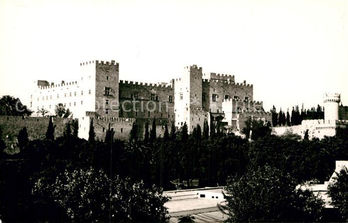 AK / Ansichtskarte Rhodos Rhodes aegaeis Palais du Grand Maitre de Rhodes Palast Kat.