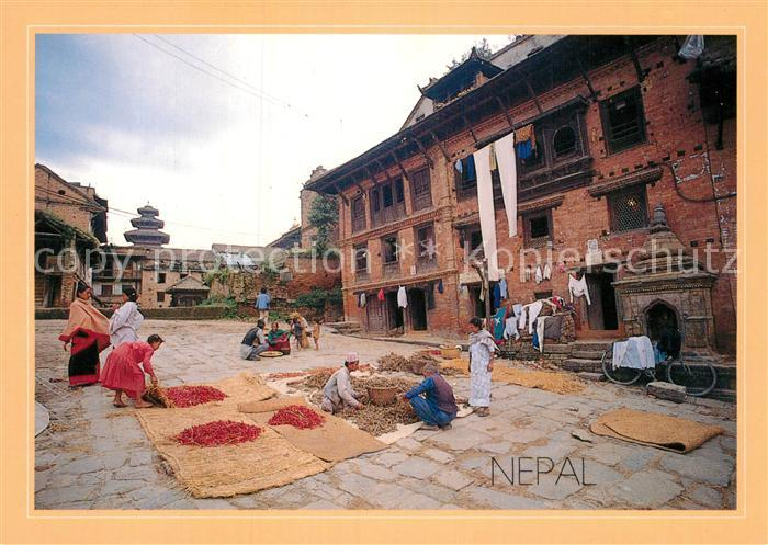 AK / Ansichtskarte Nepal Markt Kat. Nepal