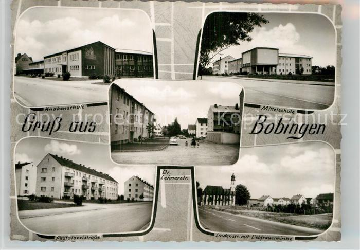 AK / Ansichtskarte Bobingen Panorama Kat. Bobingen