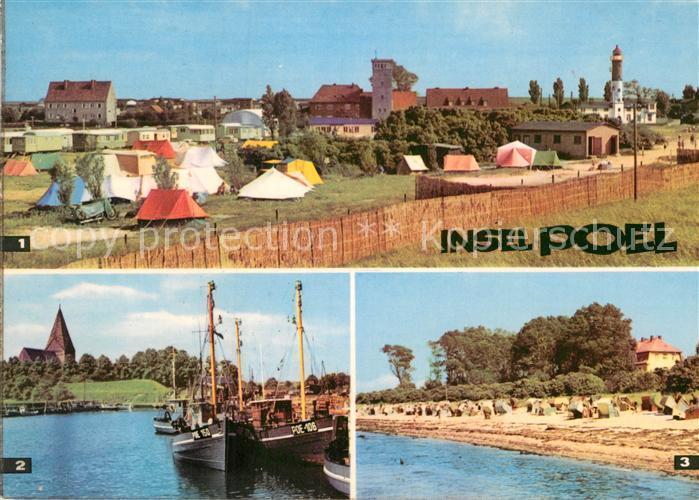 Ak Ansichtskarte Insel Poel Timmendorf Campingplatz Kirchdorf