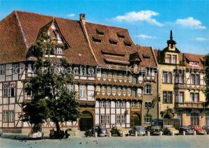 AK / Ansichtskarte Braunschweig Gildehaus Fachwerkhaus Historisches Gebaeude Kat. Braunschweig