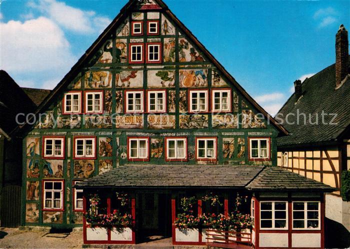 AK / Ansichtskarte Schwalenberg Gasthof Kuenslerklause  Kat. Schieder Schwalenberg